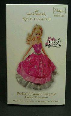 A Fashion Fairytale. Christmas Gift Decorations, Christmas Trees, Christmas Ornaments, Christmas Barbie, Hallmark Holidays, Hallmark Keepsake Ornaments, Barbie Collector, Girly Girl, Fashion Dolls