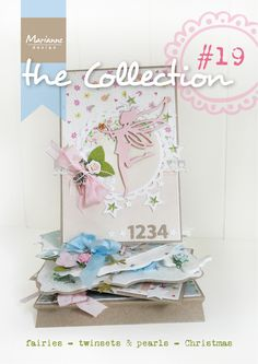 Collection #19 with many examples made with the July 2014 collection from Marianne Design