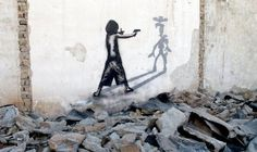 Street art is a wonderful way to express your creativity. Arguably the most well known street artist is Banksy. Here are 50 must see examples of street art. 3d Street Art, Murals Street Art, Street Art Utopia, Street Art News, Best Street Art, Art Mural, Street Artists, Wall Murals, Banksy