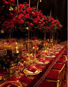 elegant wedding flowers reception table centerpieces high topiaries red purple and Reception, Desi Wedding, Gold Wedding, Elegant Wedding, Wedding Table, Wedding Black, Garden Wedding, Wedding Themes, Wedding Colors, Wedding Flowers