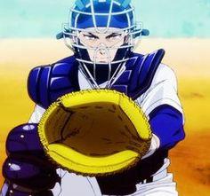 Diamond no Ace Miyuki Digimon, Hana, Spring Break, Manga Anime, Anime Boys, Anime Art, Kaze No Stigma, Brave, Baseball Anime