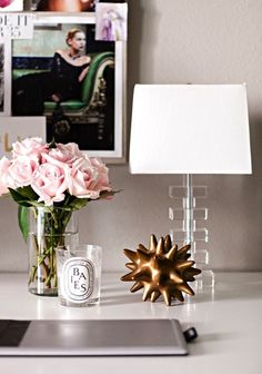 side table styling #decor