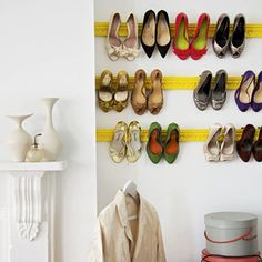 I'd really like to know if this works or not. Shoe rack. Trim.