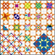 TYSS: Variable Star fillers.  A great way to use orphan blocks  perhaps for grandmothers choice