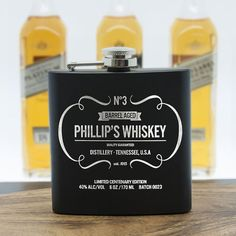 Check this out!! The Kitchen Gift Company have some great deals on Kitchen Gadgets & Gifts Personalised Hip Flask - Whiskey Design #kitchengiftco