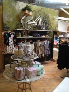 Love the bike inside the store!