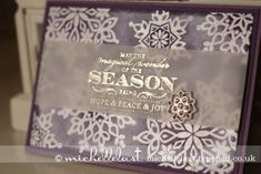 www.michellelasl.co.uk Festive Flurry from Stampin Up!