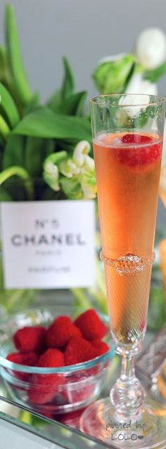 Champagne and Chanel...Paris | LOLO