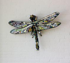 Dragonfly Mosaic by martin97uk, via Flickr