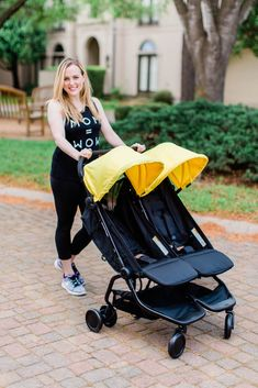 00cb27324a1 A NEW Double Stroller Perfect for the Traveling Family  The Nano Duo
