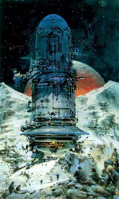 artwork by John Berkey