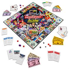 Disney Villains Collector's Edition Monopoly® Game How cool is this! I want this!