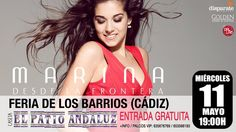 """Marina garcia herrera - Marina presentará su disco """"Desde la Frontera"""" el Miércoles día 11 de Mayo en La Feria de Los Barrios (Cádiz ) ¿ Quieres conocerla?"""