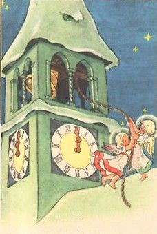 Ghost Of Christmas Past, Christmas Time Is Here, Old Christmas, Christmas Scenes, Vintage Christmas Cards, Christmas Items, Christmas Pictures, Holiday Images, Nouvel An