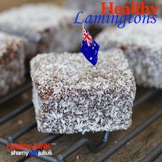 Healthy Lamington Recipe