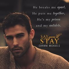 Say You'll Stay  (Return to Me, #1) by Corinne Michaels