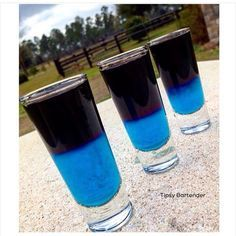Get smashed with our UFC Shooters! Recipe? Click Here! http://www.tipsybartender.com/UFC+Shooters
