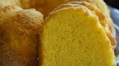 This is a moist and tender cake with plenty of orange flavor.