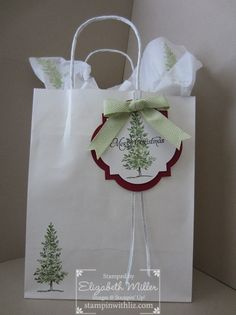 Lovely as a Tree Gift Bags & Instagram | Stampin Up Demonstrator - Tami White - Stamp With Tami Stampin Up blog