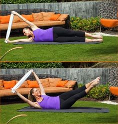 Full body pilates workout just-workin-on-my-fitness Pilates Workout Routine, Toning Workouts, Easy Workouts, Pilates Yoga, Yoga Gym, Core Pilates, Workout Fun, Beginner Pilates, Pilates Video