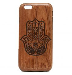 Hamsa hand iPhone Case available for the iPhone 6, iPhone 6 Plus, iPhone 5/5s, iPhone 5c, and iPhone 4/4s - by All Wood Everything
