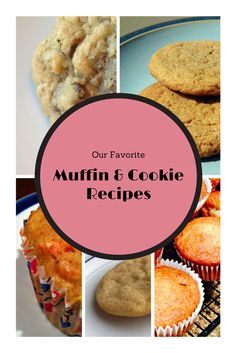 Our favorite Muffin and Cookie Recipes from MerryAboutTown.com