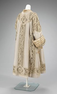 Evening coat (back view)  -  American  -  c 1905