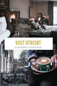 Reisebericht und Reise-Tipps für Utrecht Holland. Die schönsten Hotels, Cafés und Shopping in Utrecht. Wie Amsterdam.   #Grachten #Travelguide #Wochenendtrips #Niederlande #Netherlands