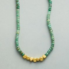 EMERALD LODE NECKLACE: View 1