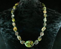 Turquoise Necklace  Ethnic Jewelry  by ByDivineCollectibles, $88.00