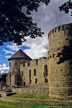 Medieval Castle, Cesis, Latvia