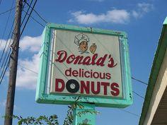 Donald's Delicious Donuts.....Zanesville, Ohio