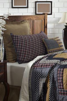 Westport Log Cabin Luxury King Quilt – Primitive Star Quilt Shop