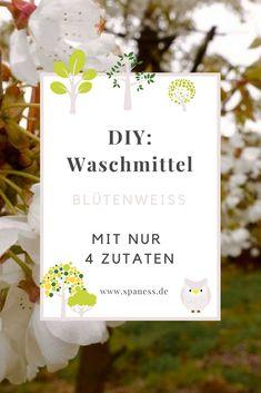 Waschmittel Nachhaltig - Mit 4 Zutaten