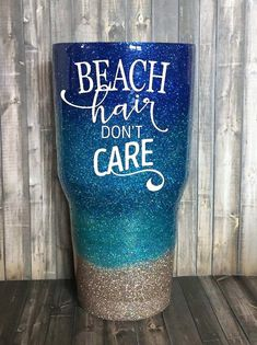 Made with real loose glitter and clear coat sealed for a glass like smooth finish. Glitter Glasses, Glitter Cups, Glitter Vinyl, Vinyl Tumblers, Custom Tumblers, Glitter Tumblr, Beach Cups, Kids Tumbler, Tumbler Cups