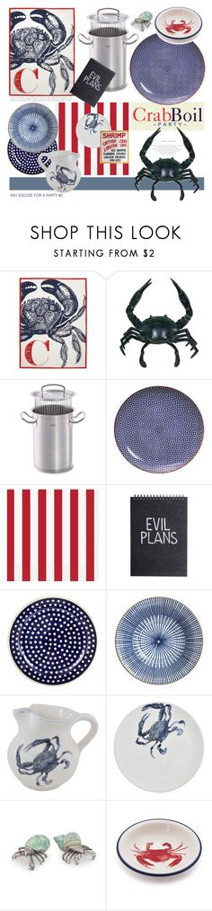 """In Season."" by s-elle ❤ liked on Polyvore featuring interior, interiors, interior design, home, home decor, interior decorating, Thomaspaul, NOVICA, Fissler and Tokyo Design Studio"