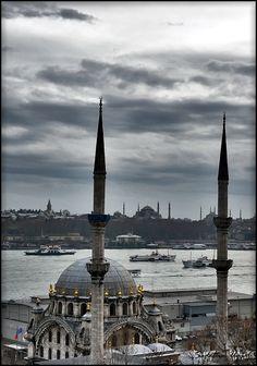Nusretiye Mosque - Istanbul by Sadettin  Uysal, via 500px
