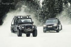 2015 Land Rover Defender Spectre Stunt Car