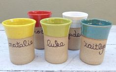 kids cup; personalized children's cup; toddler tumbler; kids ceramic cup; children's name mug; personalized cup for children