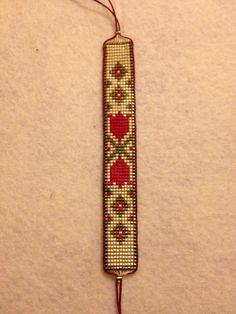 Loom Bracelet Patterns, Bead Loom Bracelets, Bead Loom Patterns, Woven Bracelets, Beading Patterns, Bead Embroidery Jewelry, Beaded Jewelry Patterns, Crochet Hair Accessories, Seed Bead Necklace
