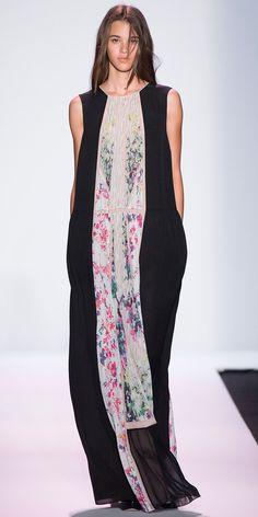 NYFW comfy maxi dress.