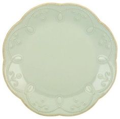 Lenox French Perle Blue Accent Plate - Set of 4 - modern - dinnerware - Hayneedle