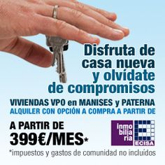 Banner for Google Adwords. Ecisa Grupo Inmobiliario. Alicante. 2012.