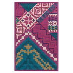 Boho Southwestern-inspired rug