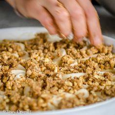 Podzimní jablkový koláč - Spicy Crumbs Snack Recipes, Snacks, Food And Drink, Rice, Angel, Diet, Snack Mix Recipes, Appetizer Recipes, Appetizers