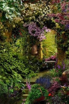 I love this. It reminds me of the Secret Garden.