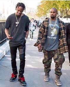 Yeezus x Travis Scott.