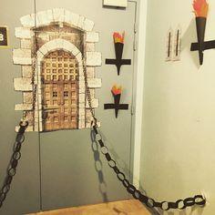 Porte de Classe  Pour Projet Châteaux - DIY