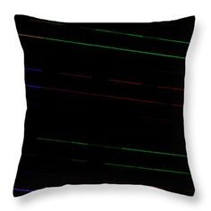 Decorate your TV room with conversation pillows.