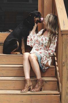 cute dress but LOVE the shoes! Bohemian Fashion, Bohemian Style, Boho, Bobby Bones, Bones Show, Free People Blog, Cute Dog Pictures, Lace Heels, Soundtrack